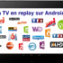 applications de replay tv sur android