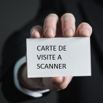 scanner carte de visite telephone